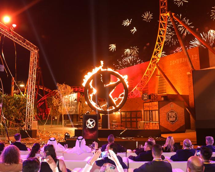 Holovis creates Hunger Games aerial tour at MotiongateDubai