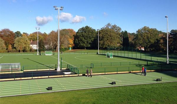 new athletics facilities at St Mary's School, Ascot, Berkshire