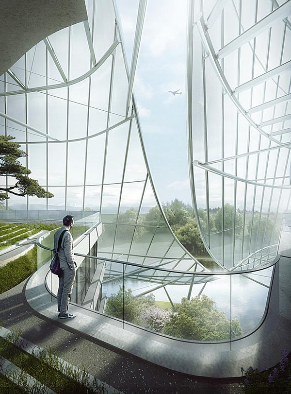 """The Xinhee Design Center in Xiamen, China, was designed for Chinese fashion brand Xinhee. """"We envisage it as a building with skin and bones,"""" said Ma Yansong"""