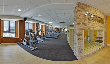Members benefit from Precor's networked fitness software