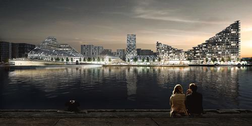Aarhus Island designs revealed by Bjarke Ingels