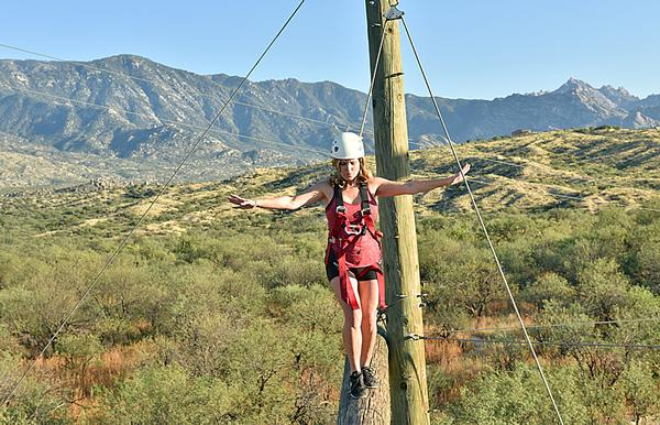 High ropes challenge courses continue to be popular
