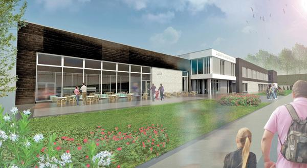 Chesterfield College has agreed a dual-use contract for the site