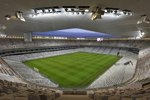 Five Euro 2016 matches will be played in Nouveau Stade de Bordeaux / Francis Vigouroux / Herzog & de Meuron