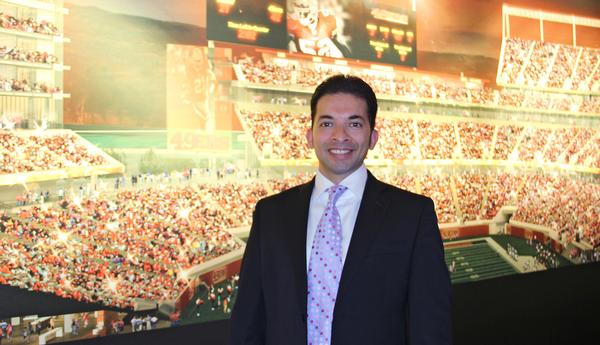 The 49ers' chief of technology Kunal Malik – one of Silicon Valley's leading tech experts
