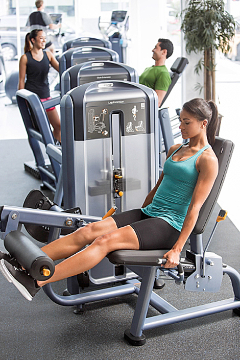 Precor Discovery Series: QR codes offer access to instruction videos