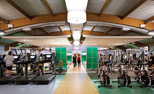 The brand has recently redesigned its gyms to have 'best in class' kit