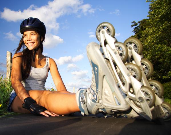 Clubs could encourage members to walk, cycle or even skate to the gym, and might also sponsor outdoor groups / all photos www.shutterstock.com