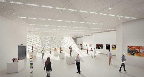 The museum will house over 4,000 Lithuanian art works / Studio Libeskind