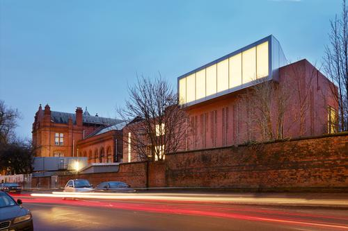 An exterior view of the art gallery in Manchester / Alan Williams
