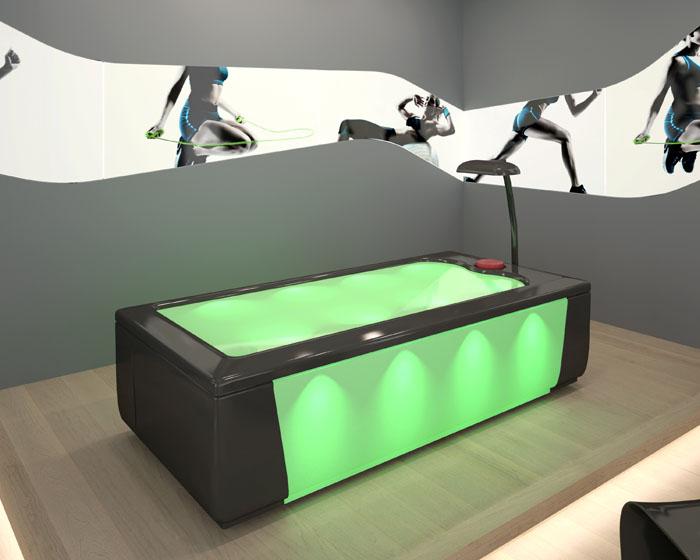Trautwein unveils water jet massage system