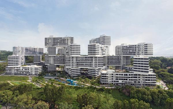 The Interlace was named World Building of the Year at the World Architecture Festival in 2015