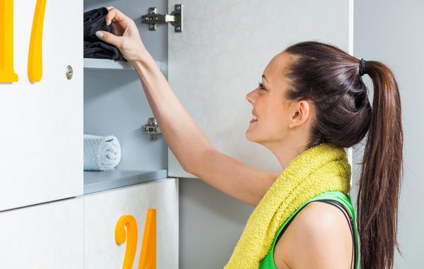 Single-sex changing areas are preferred by some gym-goers  / PHOTO: shutterstock.com