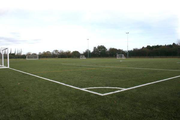 The school will use the pitch for football and hockey