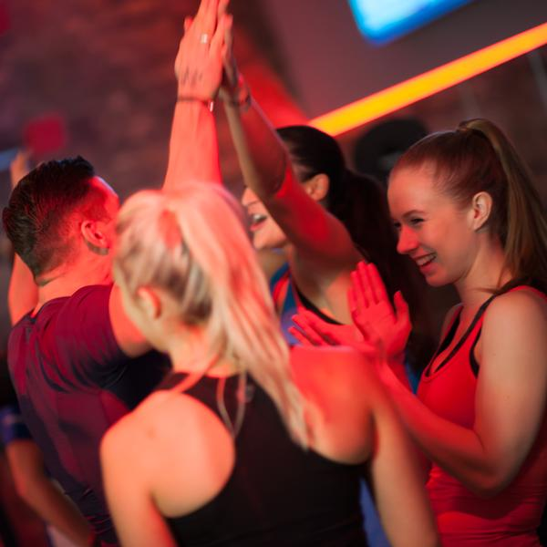 Sessions at The Beat encourage a real sense of team to help boost motivation levels