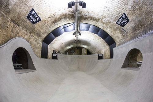 House of Vans skate and culture hub goes underground in London