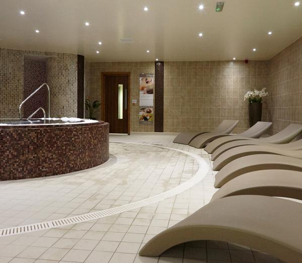 The Thermal Spa includes a luxury relaxation zone