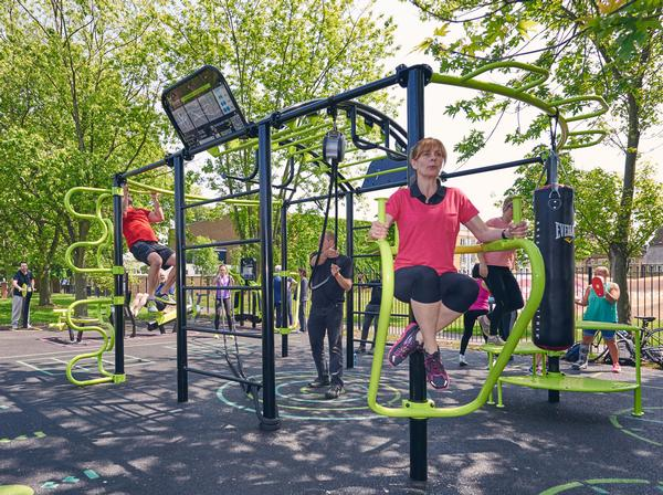 The Great Outdoor Gym Company's new training rig