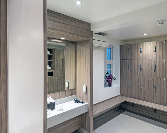Crown Sports Lockers completes installation at luxury hotel and spa