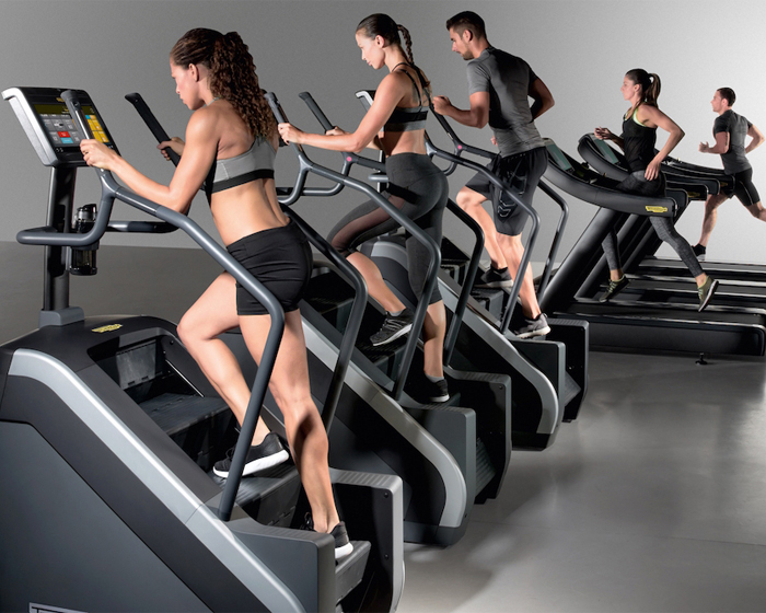The fully-immersive Climb Excite will give users the opportunity to choose from interactive landscapes / Technogym