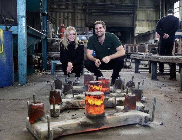 Pia Fontes and Ben Wintour are fighting knife crime with their charity Steel Warriors