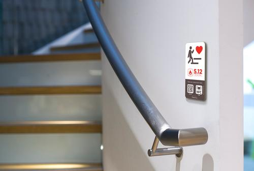 Staircases will now have calorie counts included