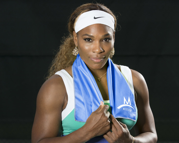 Tennis ace Serena Williams on a Mission to combat overheating