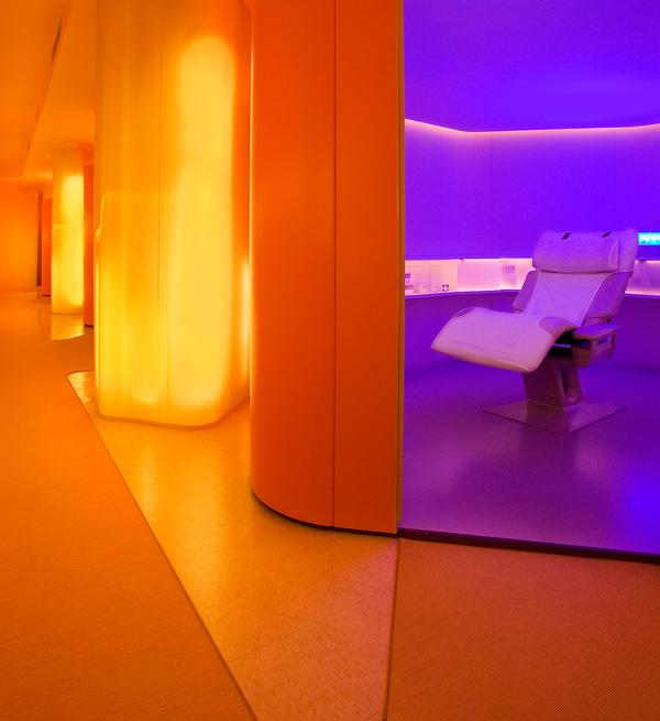 The YeloSpa sites have been designed to create tranquility