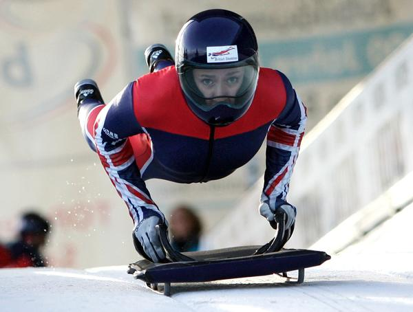 Lizzy Yarnold became the fourth skeleton medallist in as many Winter Games, dating back to 2002 / PHOTO: Phil Searle