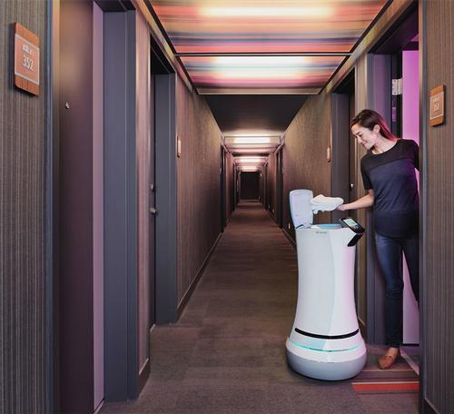 Susie Ellis says human spa staff won't be replaced by robots