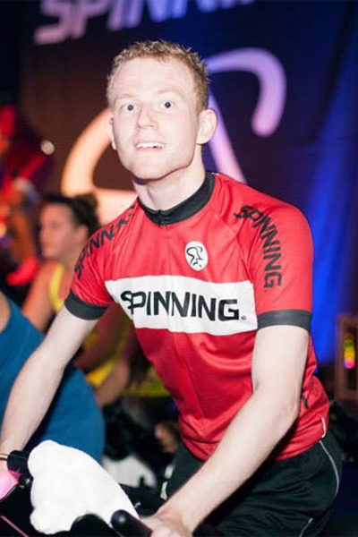 Iain McKendry, Certified Spinning Instructor , Club McKendry