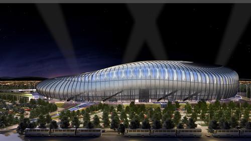 The stadium will be home to CF Monterrey
