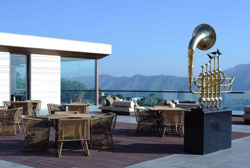 The Perch is a café that serves tea, coffee and pastries – offering a view that's 6,000ft (1,829m) above sea level / JW Marriott