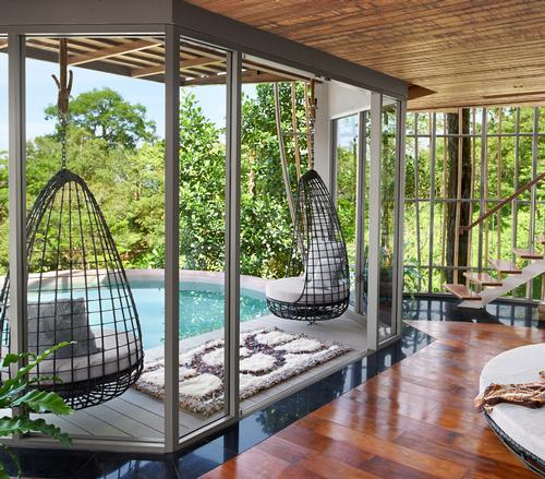 The Tree Pool Houses have a quirky two-floor villa design / Keemala