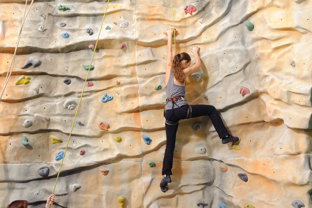 Facilities at the centre will include a climbing wall