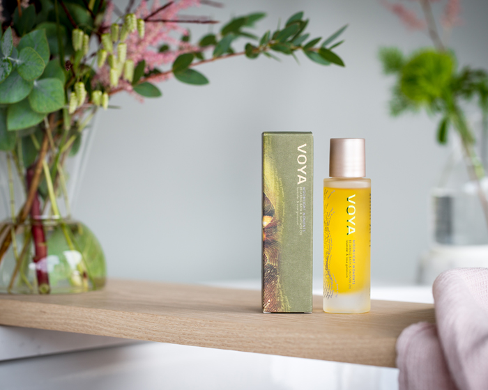 VOYA unveils Moonlight Moments bath and shower oil