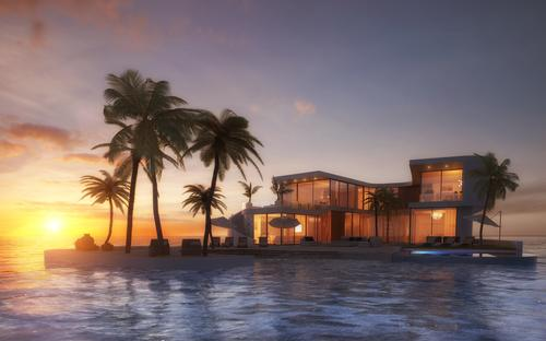 The islands will be able to be located at almost any water-based destination in the world / Amillarah Private Islands