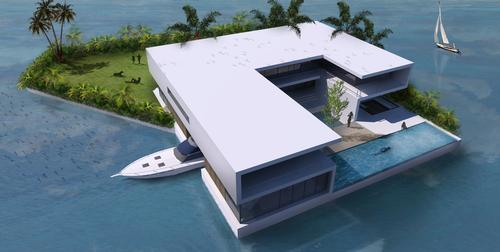 The islands will be easy to reach by boat / Amillarah Private Islands