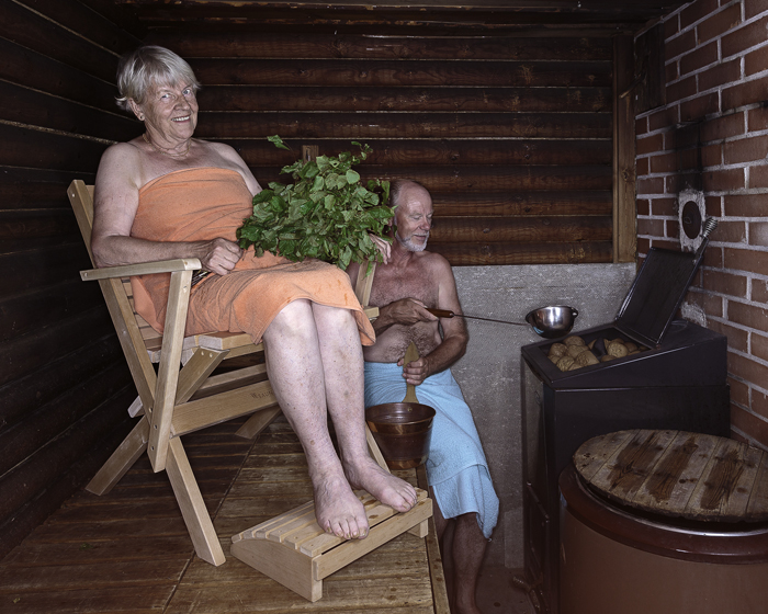 Fortis chairs provide sauna support