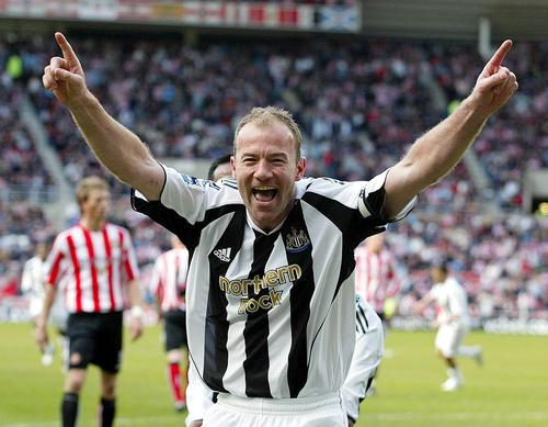 Items on display include the shirt worn by Alan Shearer when he scored his 200th Premier League goal