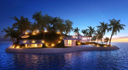 One of the proposed islands to be sold in Dubai / Amillarah Private Islands