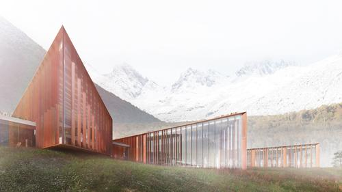 The Cape Horn Sub-Antarctic Center will be located in a UNESCO reserve / Ennead Architects