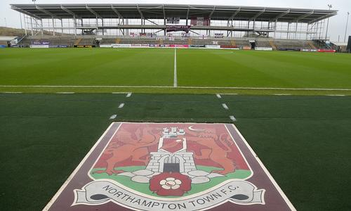 Police issued a warrant at Sixfields to investigated 'alleged financial irregularities'