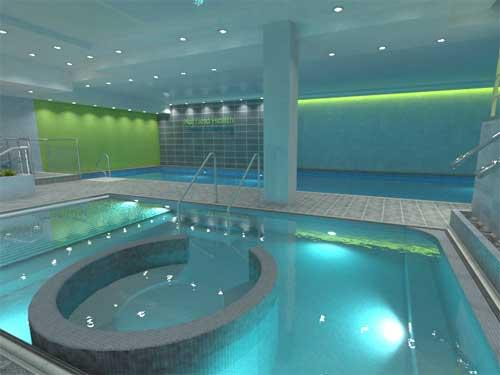 Nuffield health opens new look london site for Gyms in manchester city centre with swimming pools