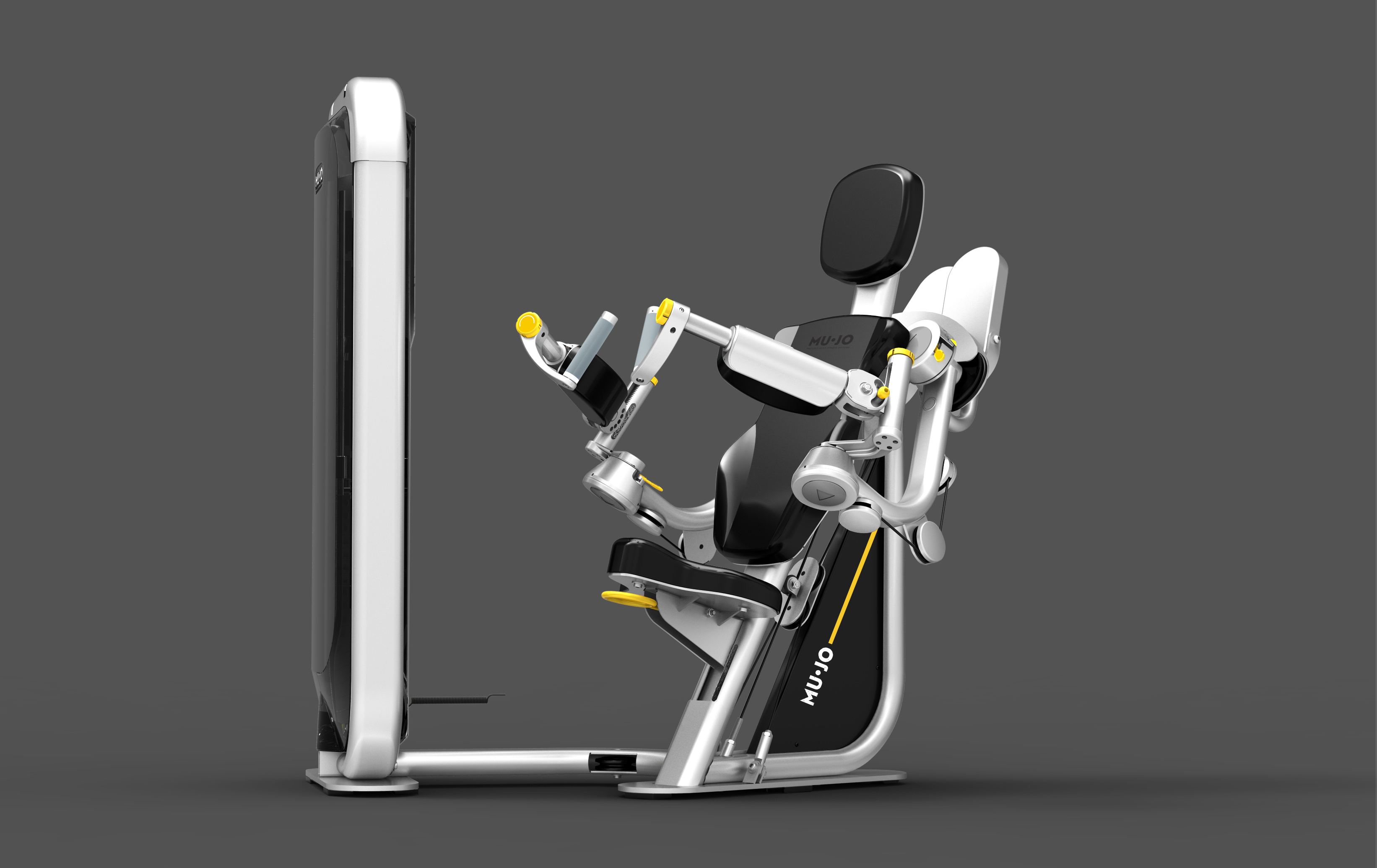 MuJo's multi-axis resistance sports rehab machine