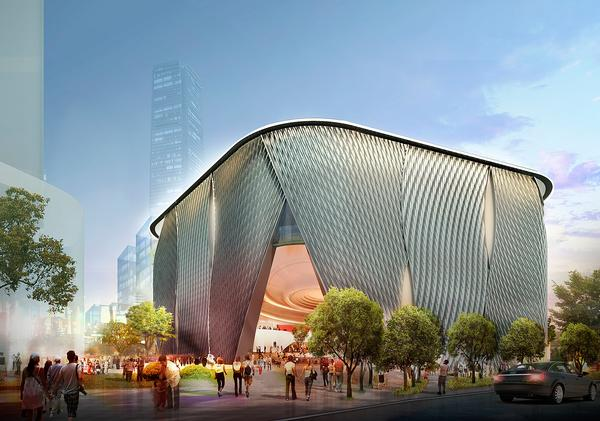 Bing Thom's Xiqu Centre is purpose-built for Chinese opera performances