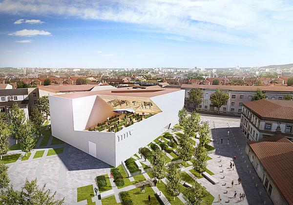 The Modern Art Center / Image: Studio Libeskind