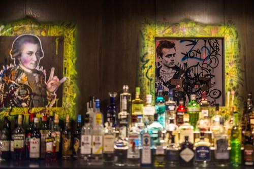 The bar has also been designed as an art space to be enjoyed by guests / Patricia Brochu