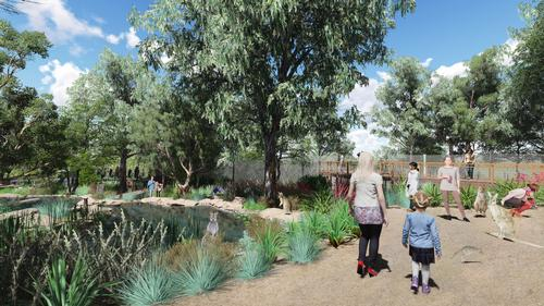 The eco-resort would be focused around Australia's native animals and fauna