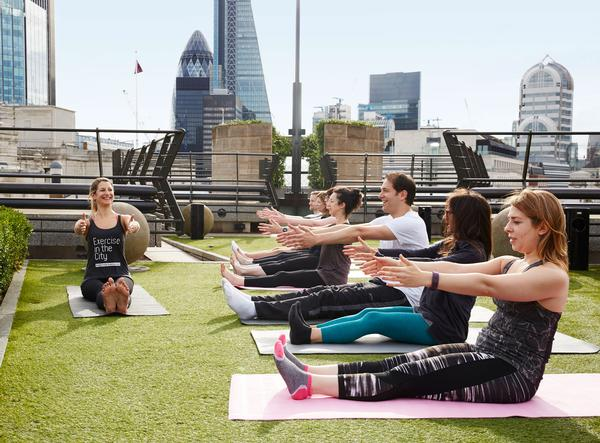 Exercise in the City now works with 30 organisations across London